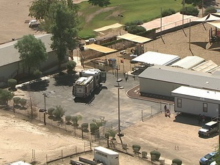 Students evacuated after fire at San Tan school