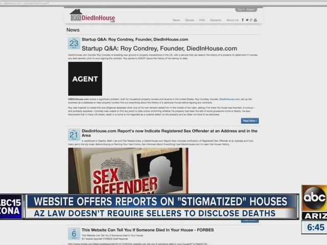 Az sex offender web site