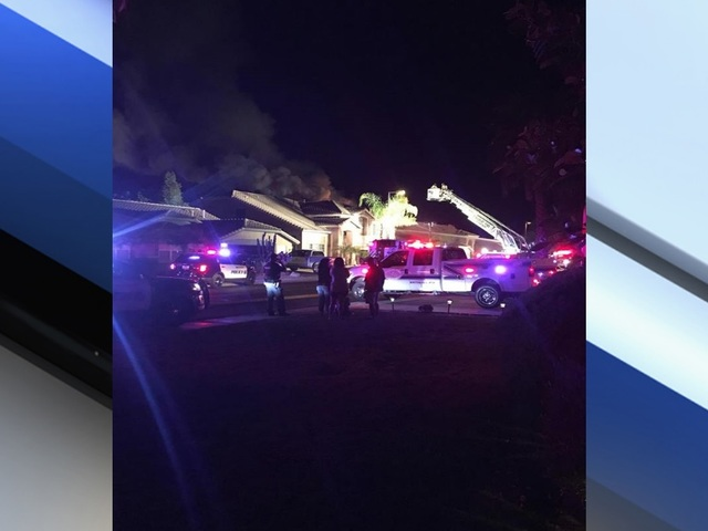 Husband, wife escape injury as plane crashes into their suburban Phoenix home