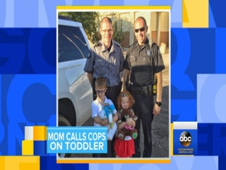 Mom calls Scottsdale police on 3-year-old