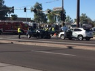 FD: 10 people injured in 3-car Chandler crash