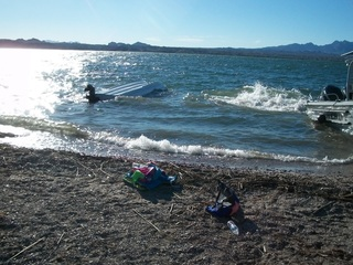 Baby in hospital after boat capsizes