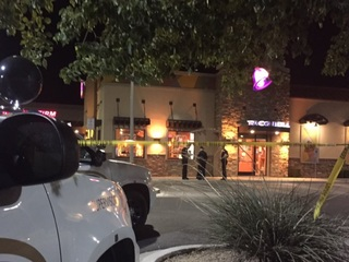 Man wearing clown mask robs S.PHX Taco Bell