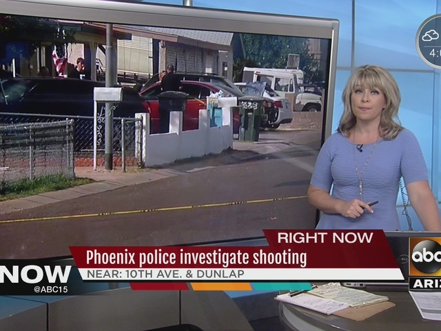 1 person hospitalized after shooting in north Phoenix