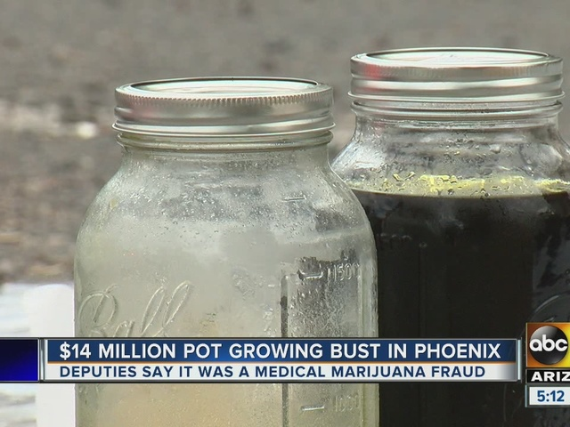 Authorities take down hash oil operation in Phoenix
