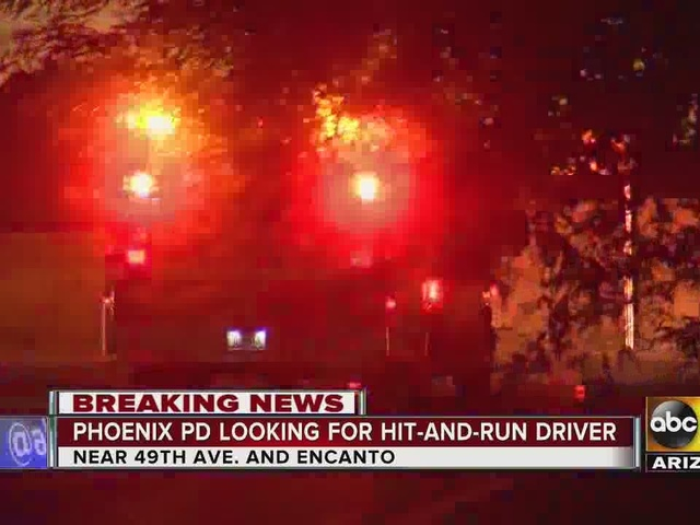 Police investigating hit-and-run accident in West Phoenix