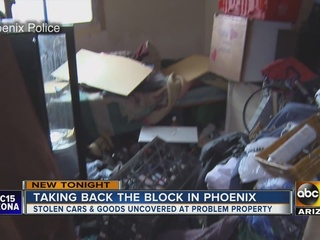 Hotbed of illegal activity busted at vacant home