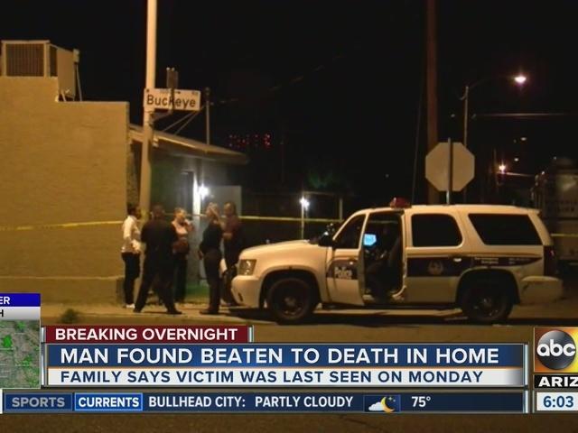 Man found shot dead in Phoenix home; police investigating