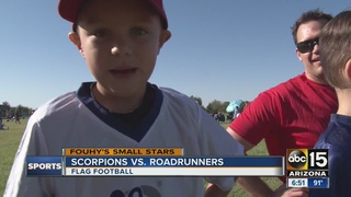Small Stars: Phenomenal flag football kids