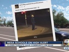 Manhunt in Mesa for clown making school threats