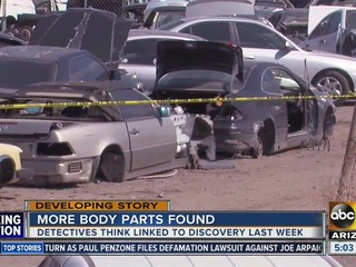 PD: More human remains found in S.PHX yard