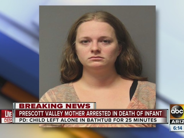 Police: Prescott Valley woman arrested in death of infant daughter