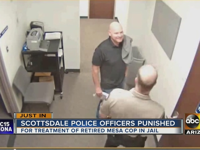 Punishments handed down for Scottsdale officers for special treatment of inmate