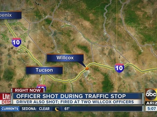 Willcox officer shot, suspect injured