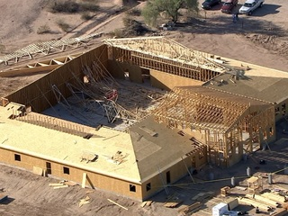 Work suspended after Queen Creek church collapse