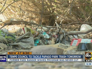 Tempe spends $80K to clean up homeless camps
