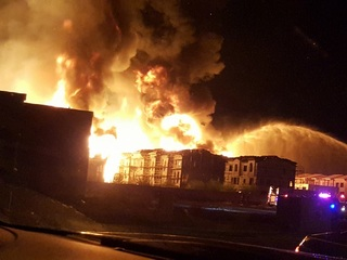 Person sought after huge Gilbert apartment fire