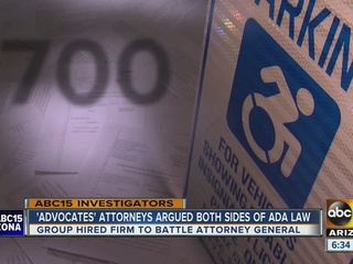 ADA 'advocates' lawyers argued both sides of law