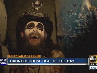 Get half off food, haunted houses at Scarizona!