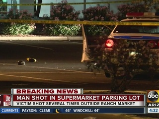 PD: Man dies after shooting near PHX supermarket