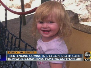 Two people to be sentenced in PHX daycare death