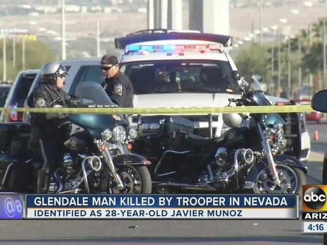 Arizona man killed in Nevada officer-involved shooting