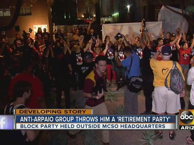 Group wants Sheriff Joe Arpaio out of office