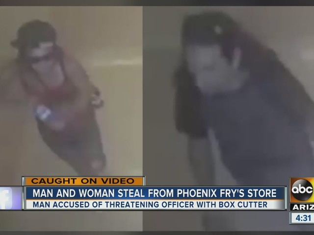 Two accused from stealing from Phoenix grocery store