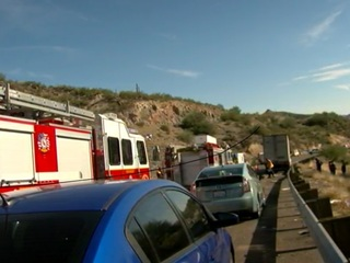 DPS: At least 20 vehicles involved in I-17 crash