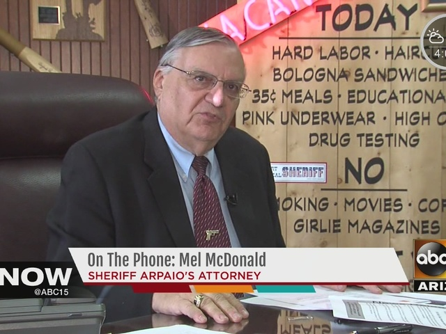 Joe Arpaio officially charged with criminal contempt-of-court charge