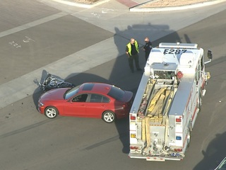 Deadly motorcycle crash in Chandler