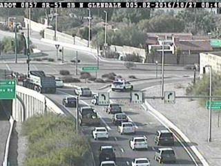 Police investigating motorcycle crash in Phoenix