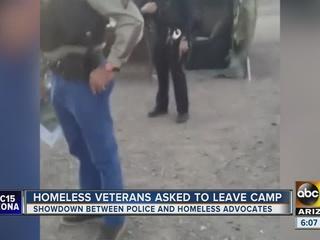 Salt River PD, homeless group face off at camp