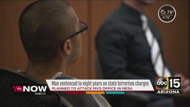 Arizona Man Gets 8 Years In Prison On Terrorism