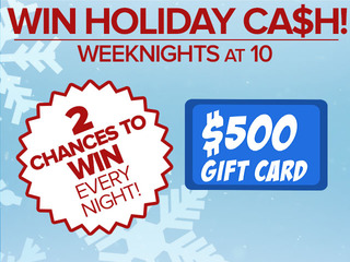RULES: Holiday Cash $500 Giveaway