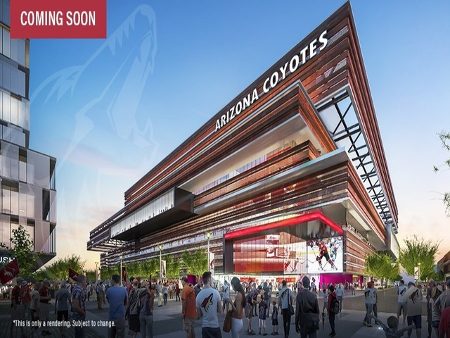Coyotes announce 16000-seat arena plan for Tempe, Ariz