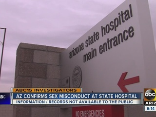 AZ confirms case of sex misconduct at hospital