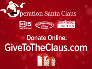 $545K raised for Claus-A-Thon, donate now