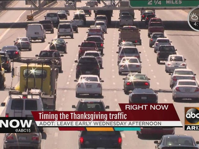 ADOT predicts Thanksgiving travel forecast