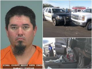 PCSO deputy uses SUV to stop wrong-way driver