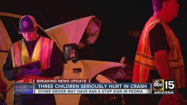 Car Accident Nov  Peoria Az