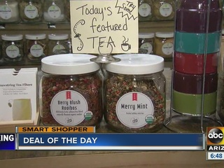 Warm up with 50% off at Loose Leaf Tea Market!