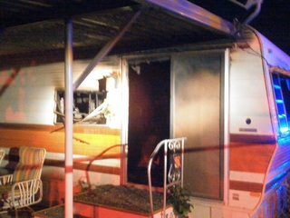 Woman found inside burning Apache Junction home