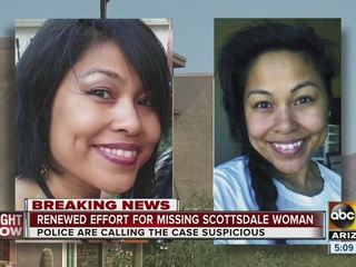 Police still looking for missing Scottsdale mom