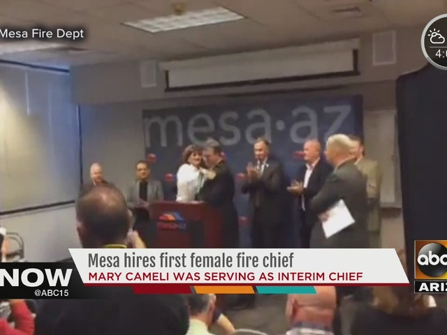 Mesa Fire and Medical hires first woman chief