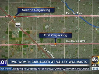 PD: Armed trio steals woman's car in Glendale