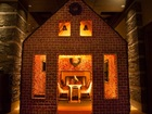 Dine inside a gingerbread house in Arizona