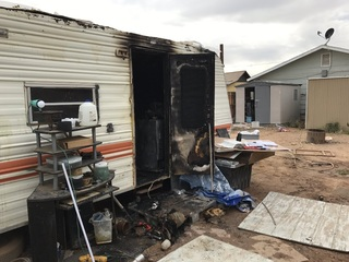 2 dead after camper fire in Peoria