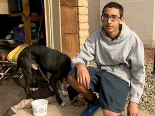 FD: Teen on school bus saves dog from house fire