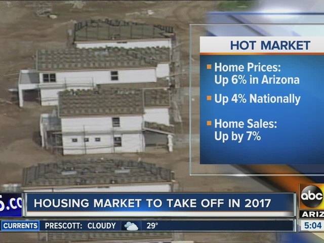 Phoenix housing market expected to take off in 2017